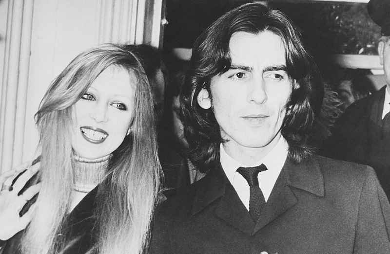 George and Pattie Harriso in 1969