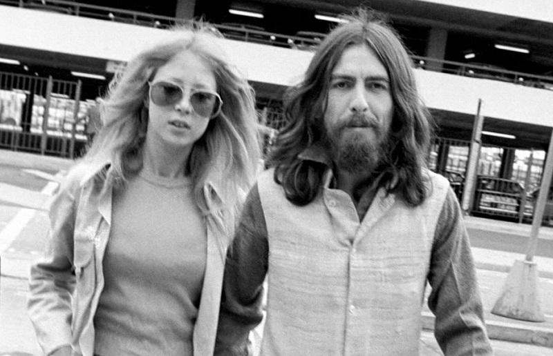 George and Pattie Harrison, 1969