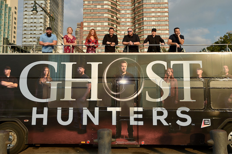 The cast of 'Ghost Hunters'