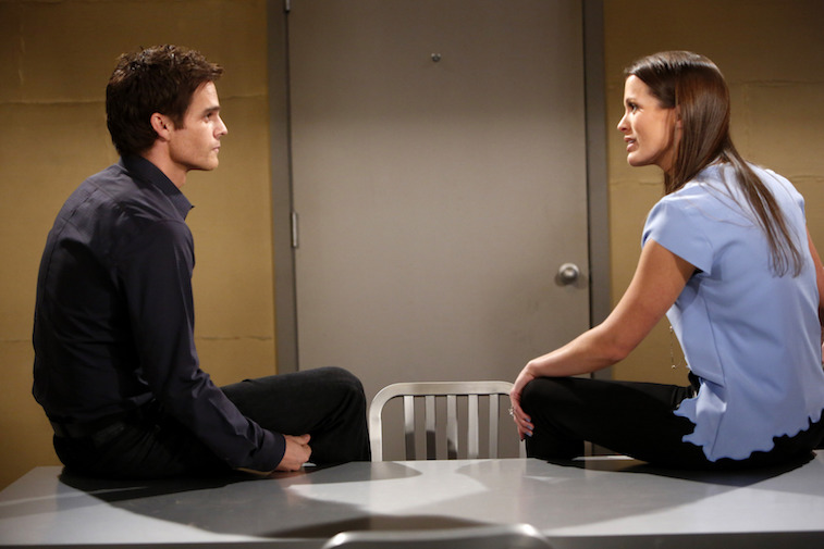 Greg Rikaart and Melissa Claire Egan