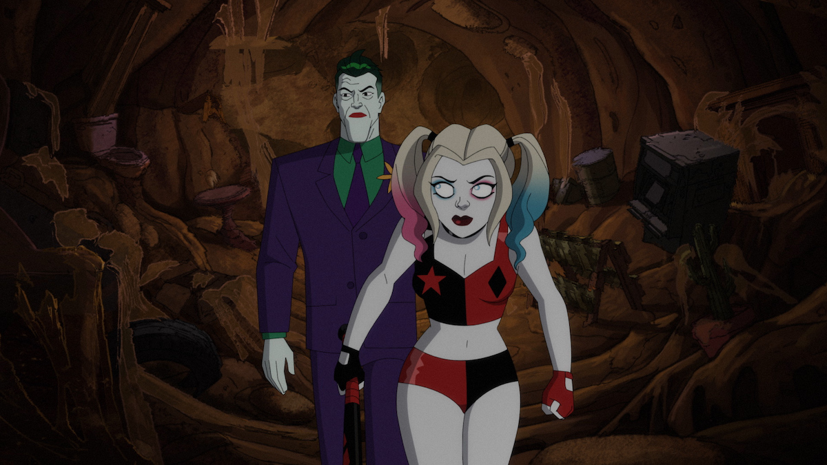 Harley Quinn and the Joker in the Parademon's nest, 'Harley Quinn'