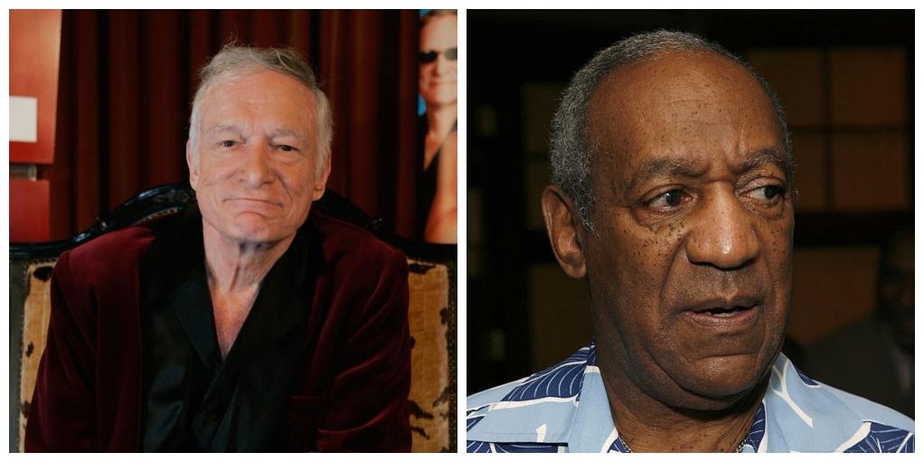 Hugh Hefner, Bill Cosby