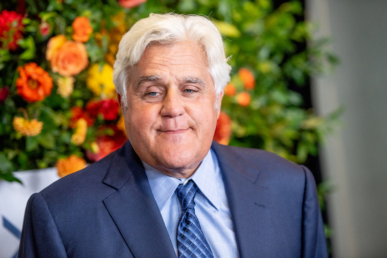 Jay Leno on the red carpet