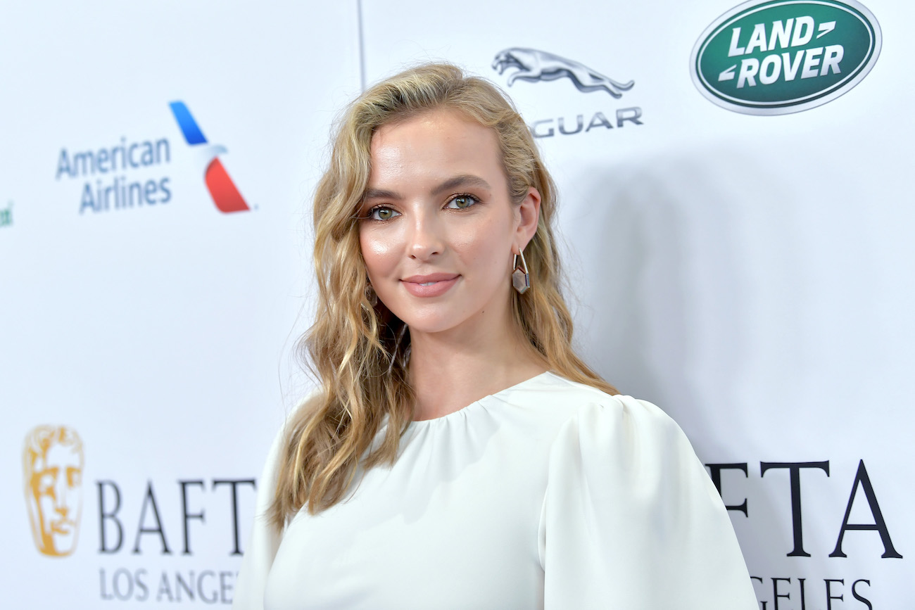 Jodie Comer at the BAFTA Los Angeles + BBC America TV Tea Party 2019 on September 21, 2019.