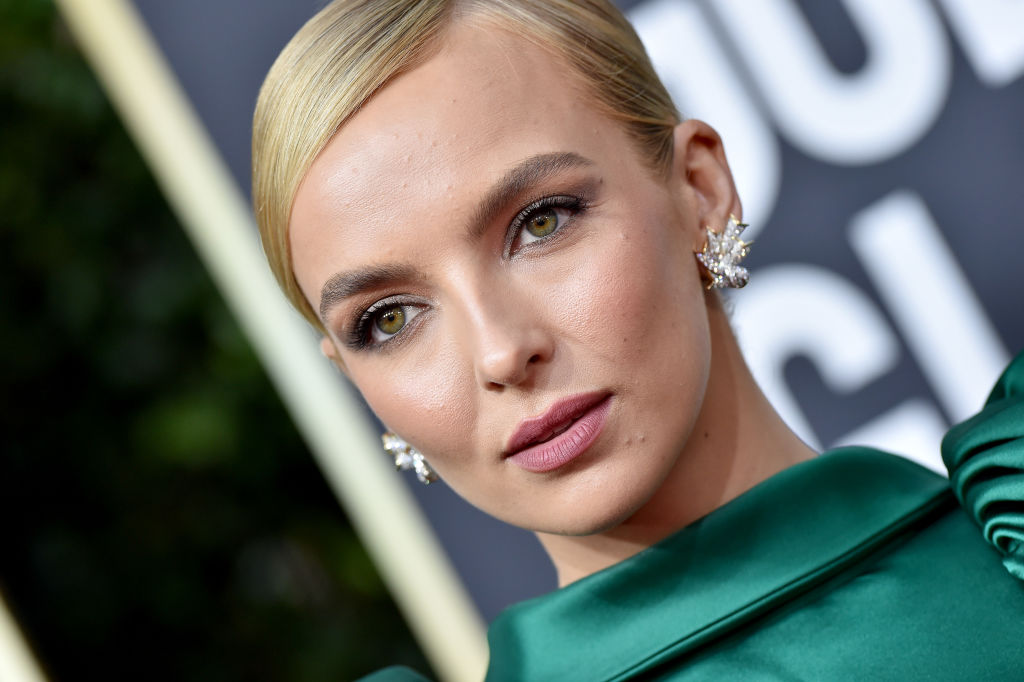 Jodie Comer attends the 77th Annual Golden Globe Awards at The Beverly Hilton Hotel on January 05, 2020