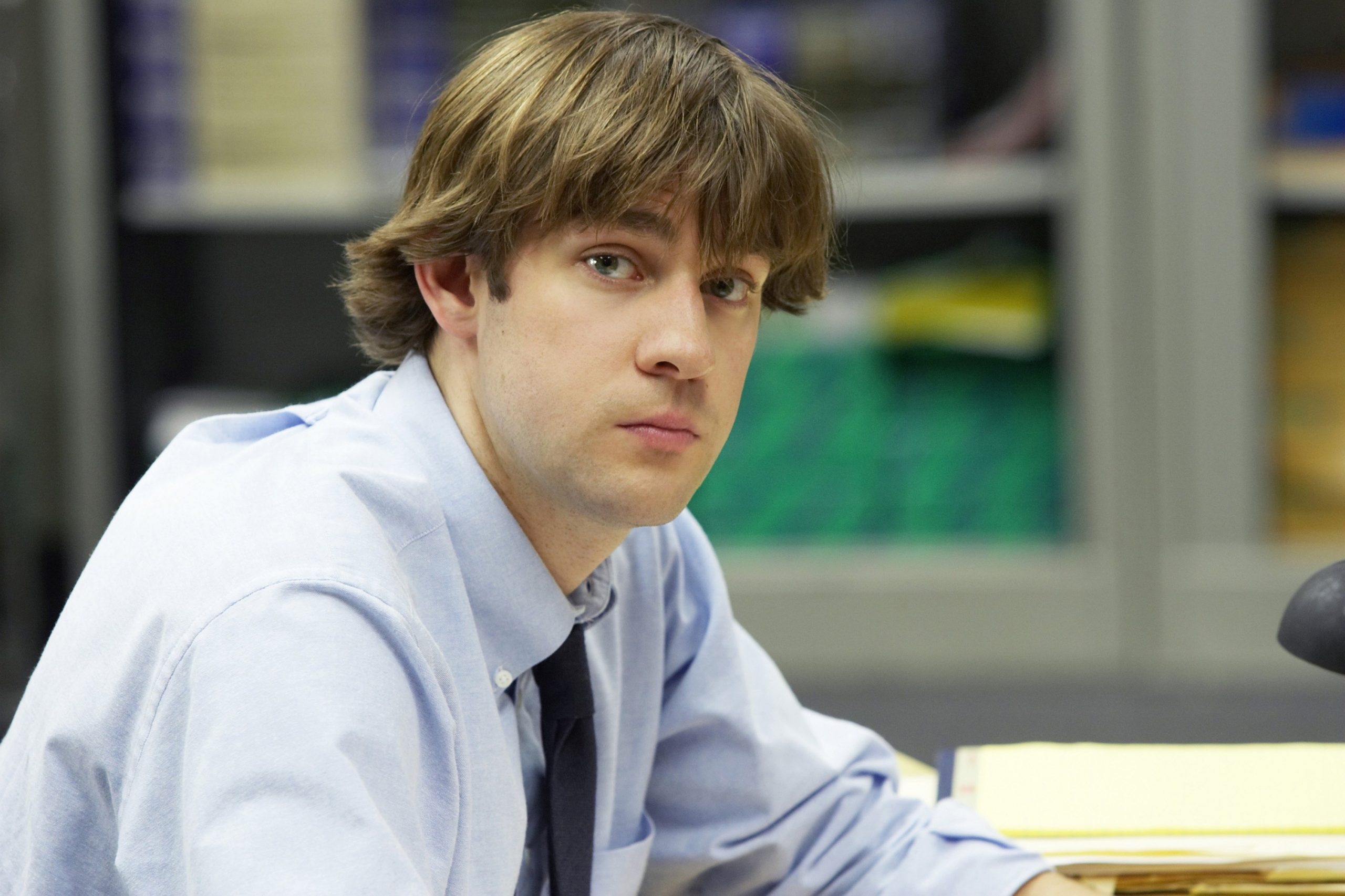 John Krasinski as Jim Halpert in 'The Office' Season 1