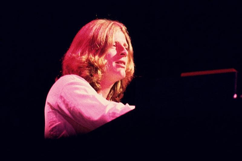 John Paul Jones at the keyboard