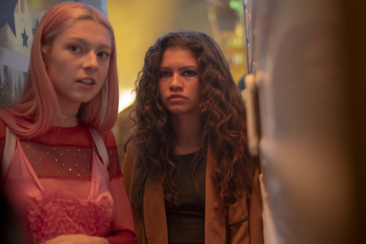Jules and Rue in Season 1, Episode 4 of 'Euphoria' at the fair.