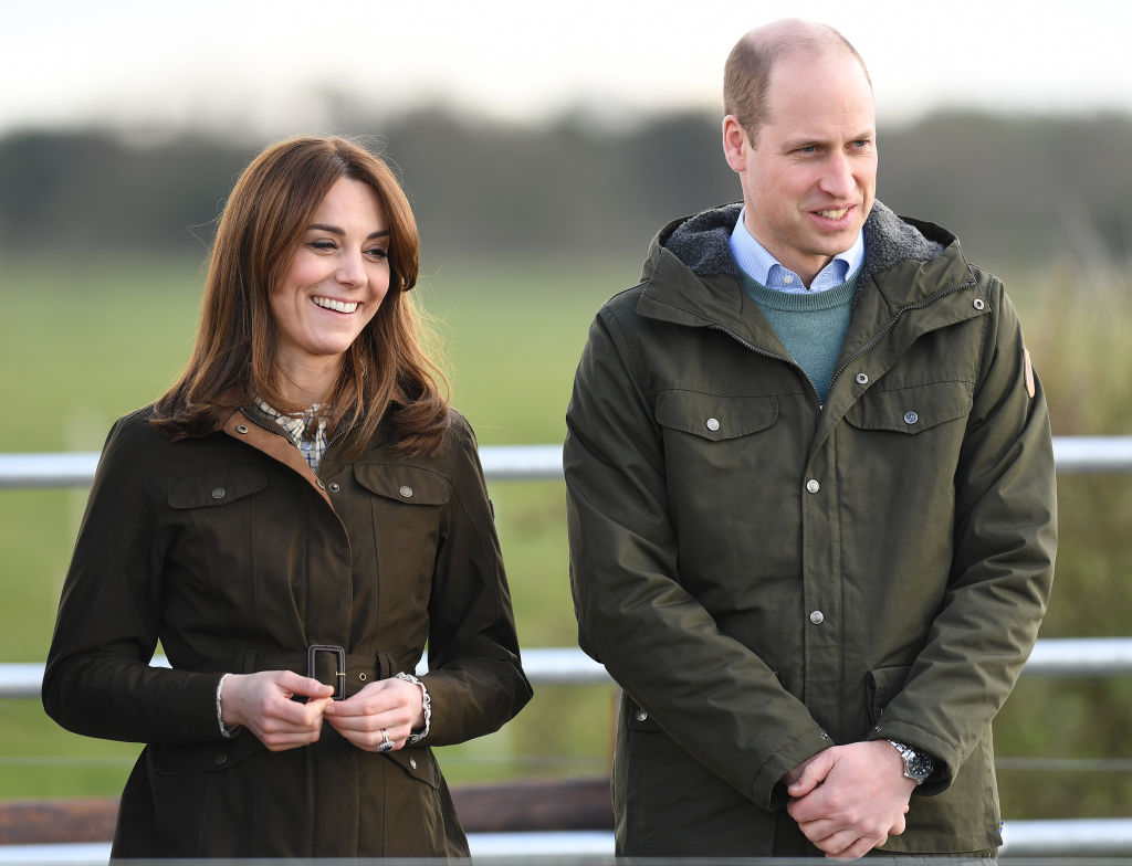 Prince William and Kate Middleton visit Teagasc Research Farm's on March 04, 2020 in Carlow, Ireland
