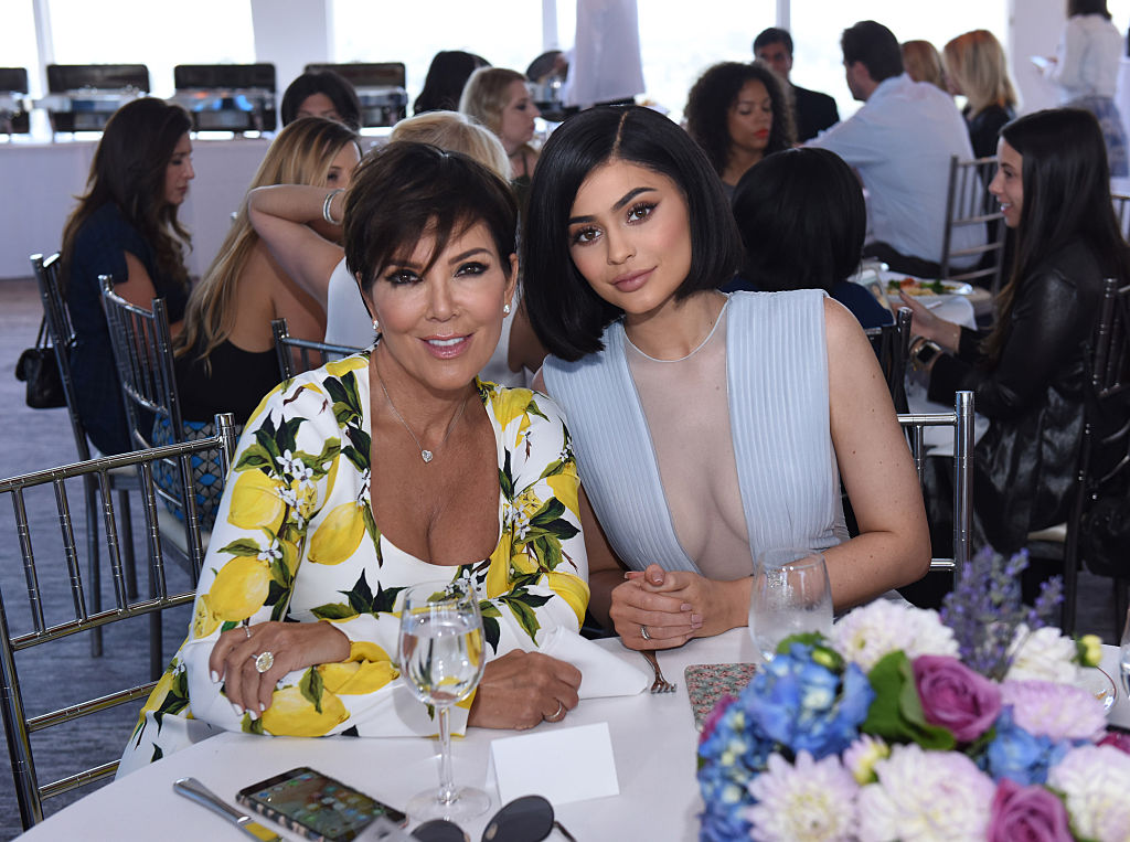 Kris Jenner and Kylie Jenner attend SinfulColors and Kylie Jenner Announce charitybuzz.com Auction for Anti Bullying