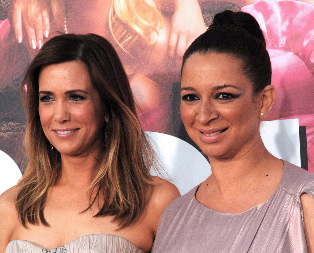 Kristen Wiig and Maya Rudolph attend 'Bridesmaids' Los Angeles Premiere on April 28, 2011