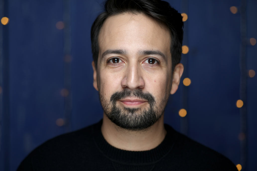 Lin-Manuel Miranda of 'Siempre, Luis' attends the IMDb Studio at Acura Festival Village on location at the 2020 Sundance Film Festival – Day 2 on January 25, 2020 in Park City, Utah.