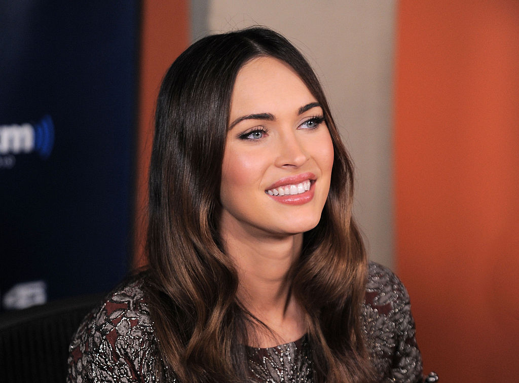 Megan Fox visits 'Sway in the Morning' with Sway Calloway at SiriusXM Studios on August 5, 2014