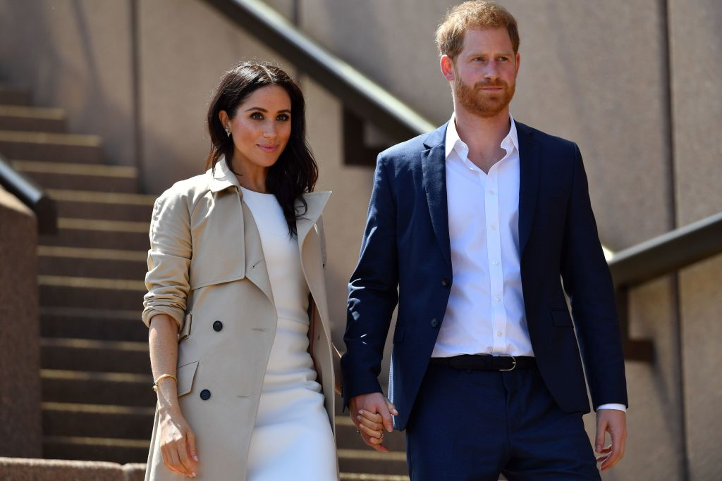 Meghan Markle and Prince Harry at Sydney Opera House