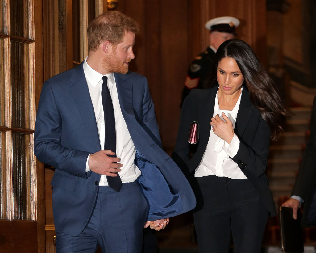 Prince Harry and Meghan Markle attend Endeavor Fund Awards Ceremony at Goldsmiths Hall