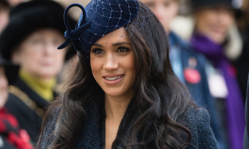 Meghan Markle attends the 91st Field of Remembrance at Westminster Abbey