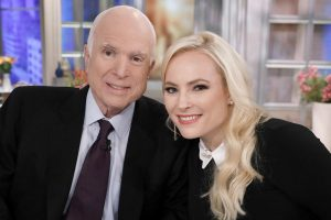 'The View': Meghan McCain Slams Troll Shaming Her for Saying 'My Father' Regularly
