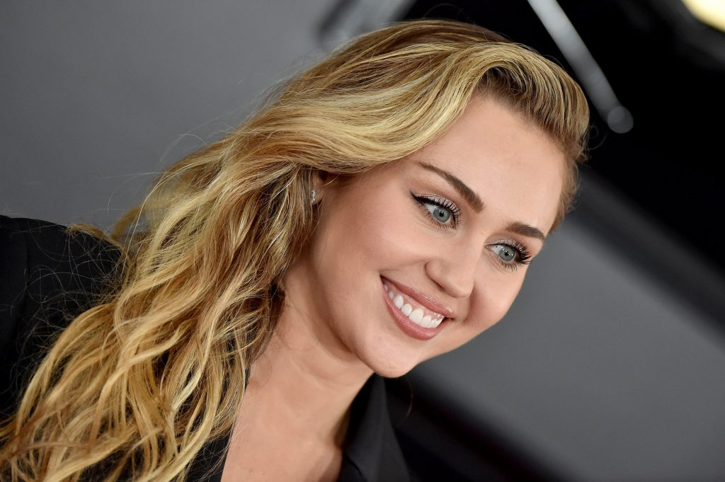 Miley Cyrus attends the 61st Annual GRAMMY Awards on February 10, 2019 in Los Angeles, California.