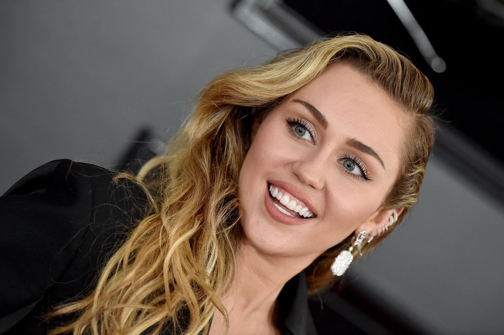 Miley Cyrus attends the 61st Annual GRAMMY Awards at Staples Center on February 10, 2019 in Los Angeles, California.