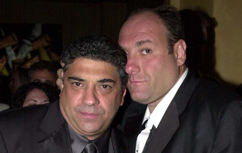 Vincent Pastore and James Gandolfini