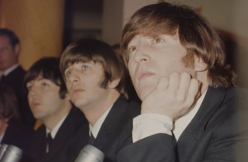 A 1965 Beatles press conference