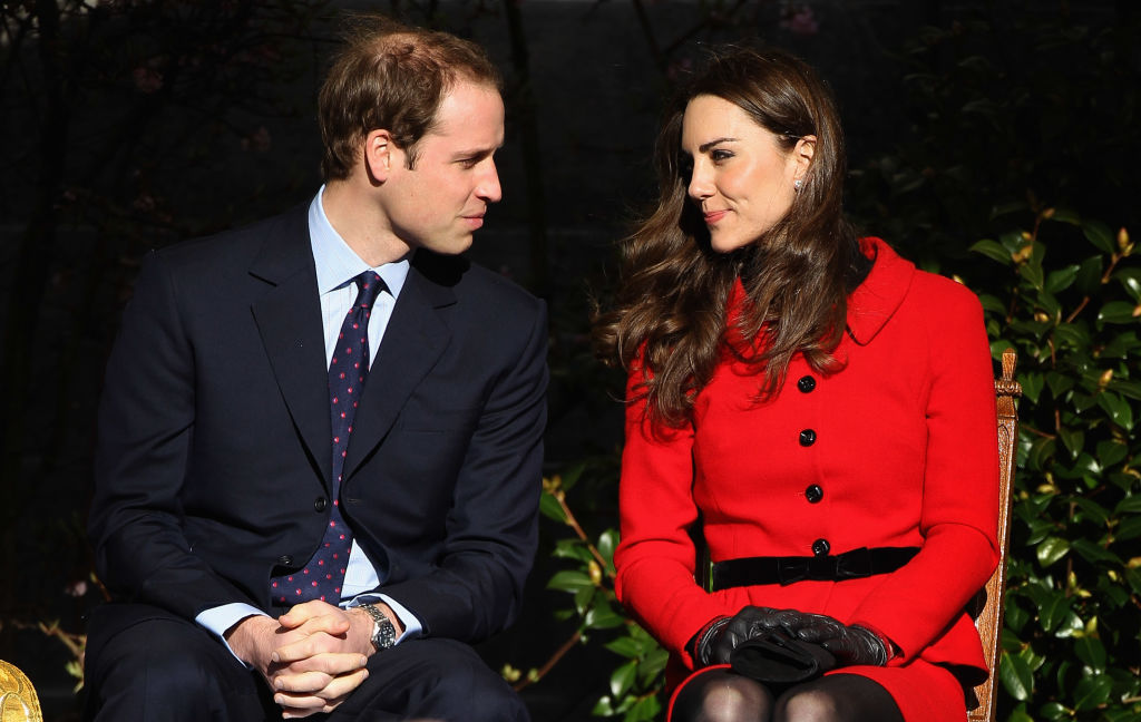 Prince William and Kate Middleton visit the University of St Andrews on February 25, 2011