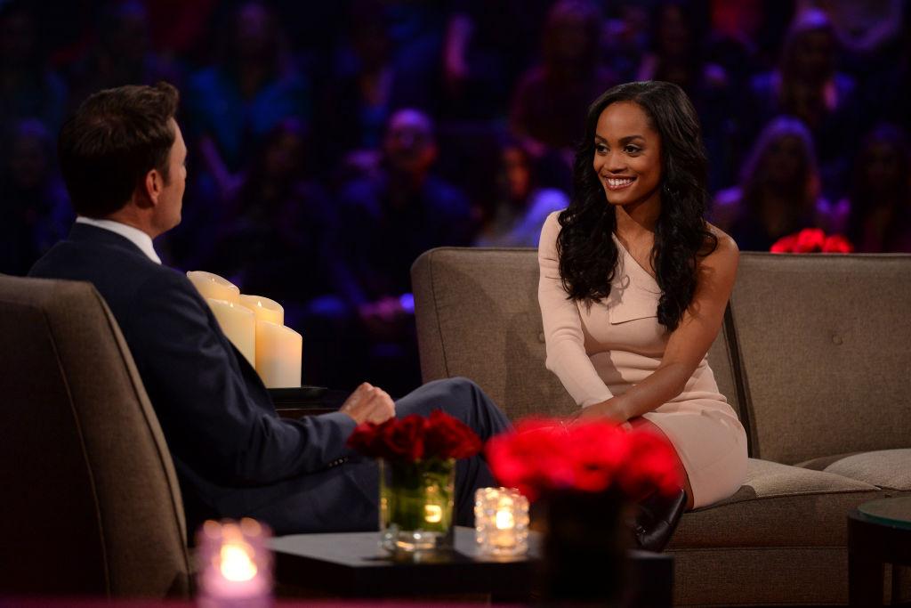 "Rachel Lindsay on ""The Women Tell All"" episode of Nick Viall's season of 'The Bachelor'"
