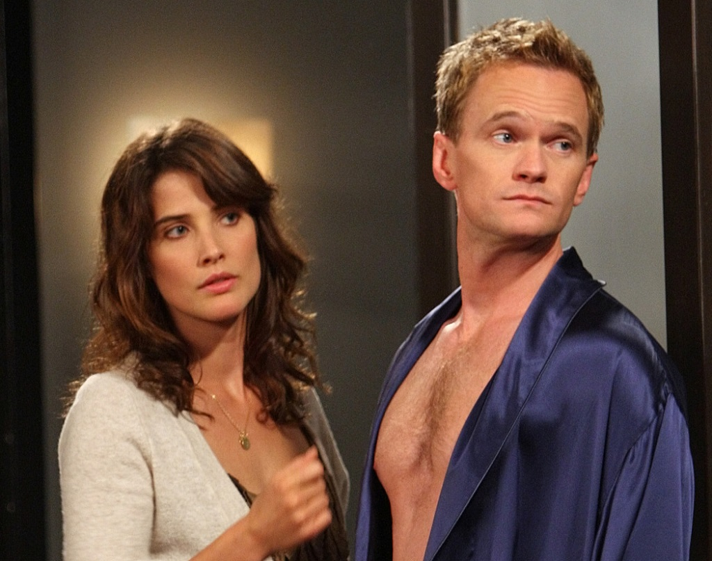 Cobie Smulders as Robin and Neil Patrick Harris as Barney in 'How I Met Your Mother'