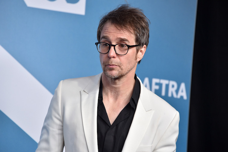 Sam Rockwell on the red carpet