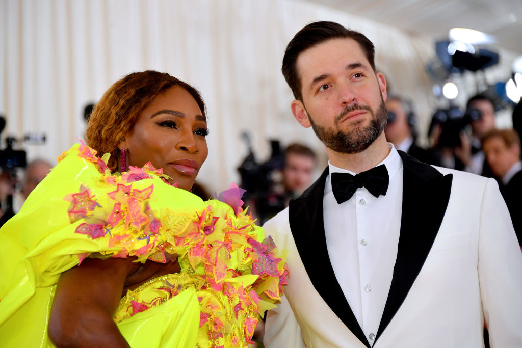 Serena Williams and Alexis Ohanian attend The 2019 Met Gala Celebrating Camp: Notes on Fashion at Metropolitan Museum of Art on May 06, 2019 in New York City.