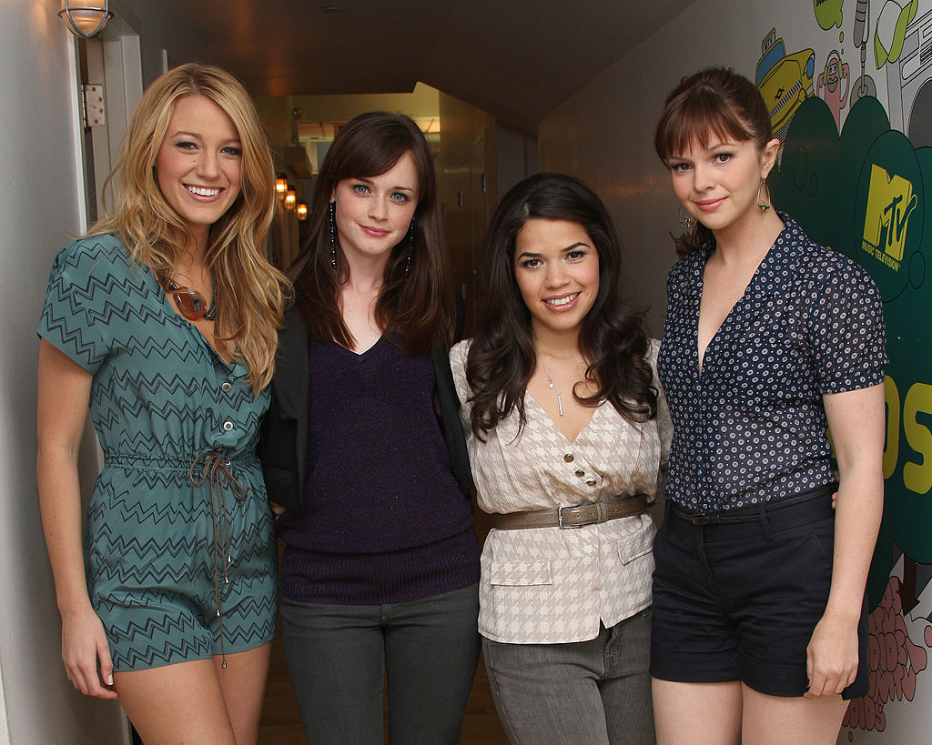 'The Sisterhood of the Traveling Pants' stars Blake Lively, Alexis Bledel, America Ferrera and Amber Tamblyn