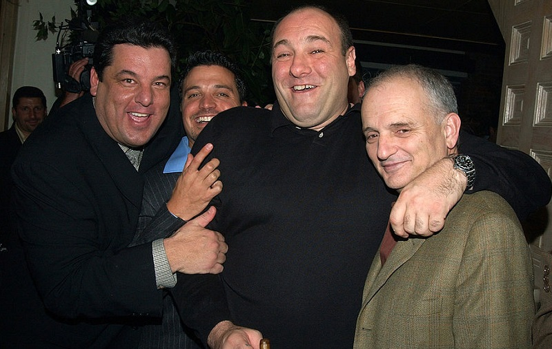 'Sopranos' cast and creator