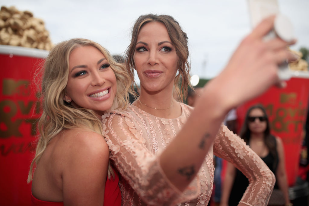 Stassi Schroeder and Kristen Doute at the MTV Awards 2018