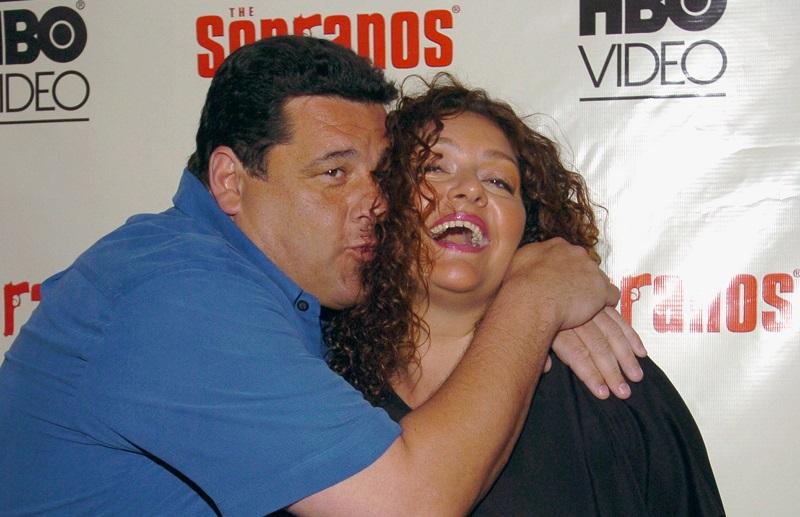 Steve Schirripa with Aida Turturro