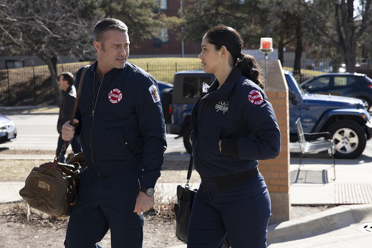 Taylor Kinney in 'Chicago Fire'
