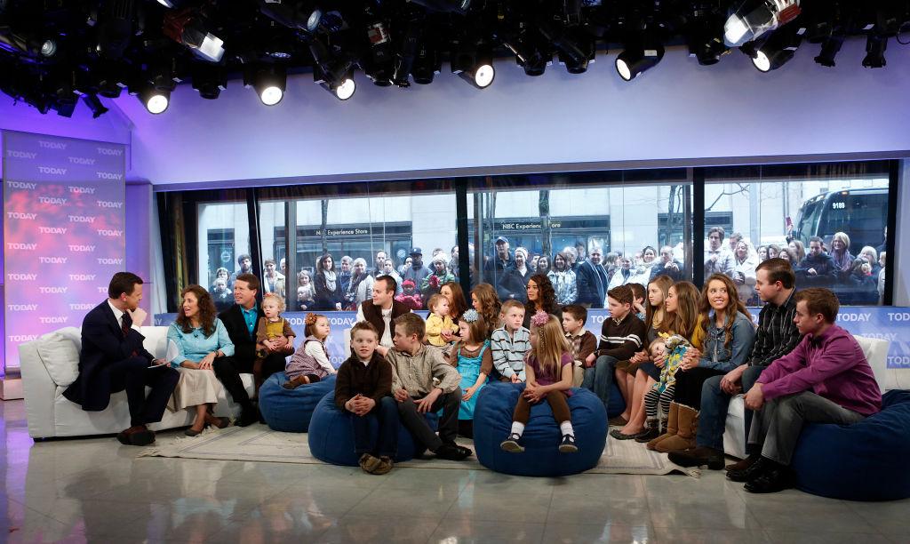 The Duggar family appear on 'Today'