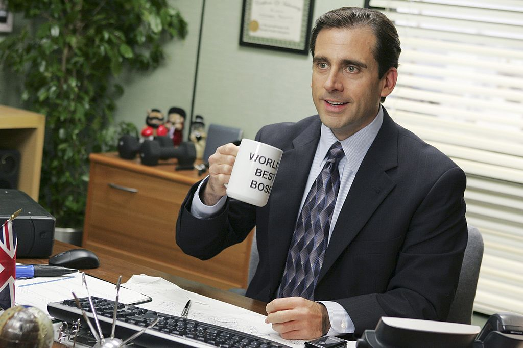 Steve Carell as Michael Scott on 'The Office'