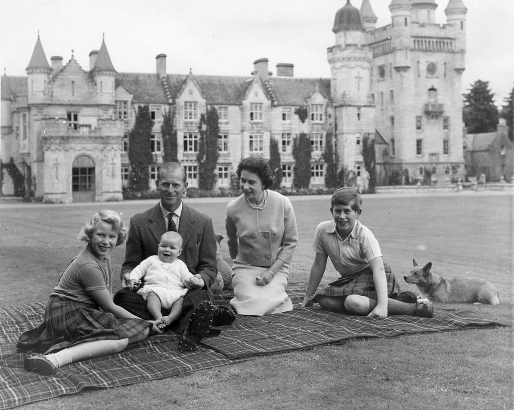 Prince Philip, Queen Elizabeth and the royal family