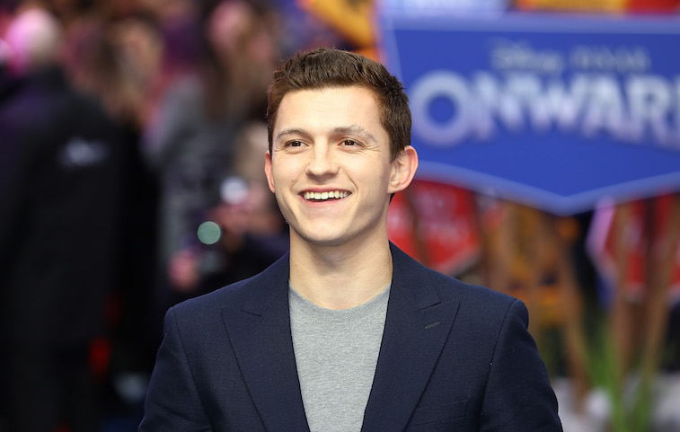 Tom Holland on the red carpet