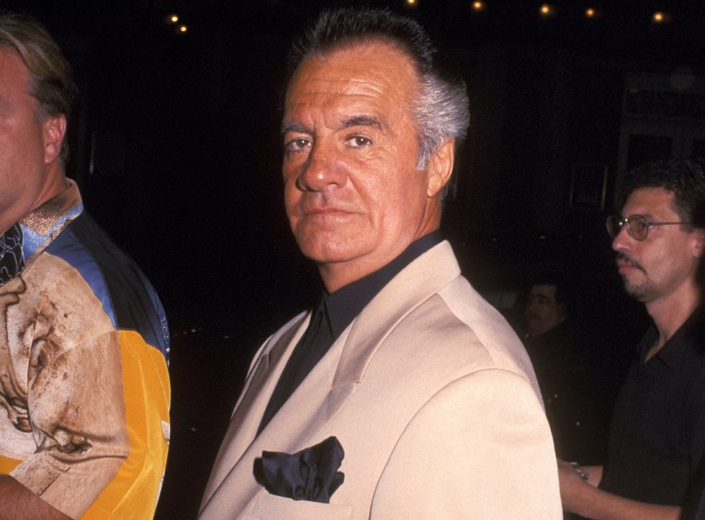 Tony Sirico at a Broadway premiere