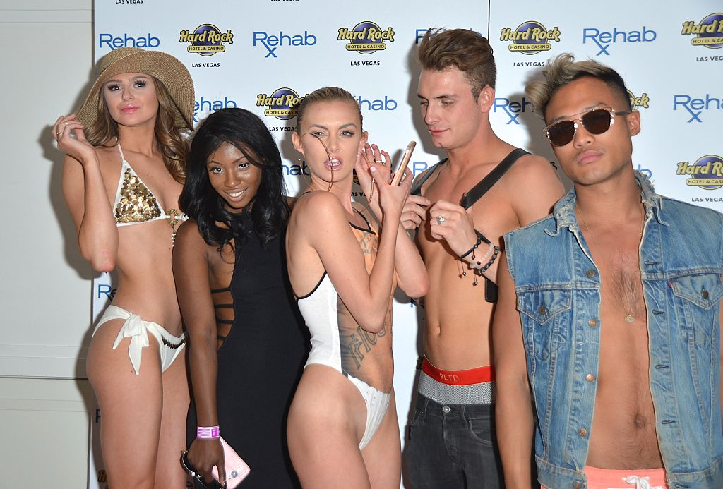 Faith Stowers and part of the 'Vanderpump Rules' cast