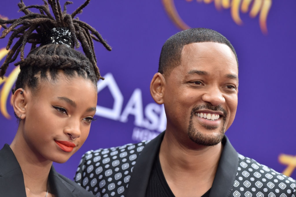 Will Smith with daughter Willow