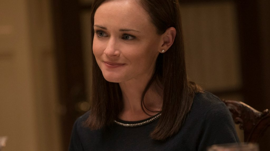 Alexis Bledel as Rory Gilmore on 'Gilmore Girls: A Year in the Life'