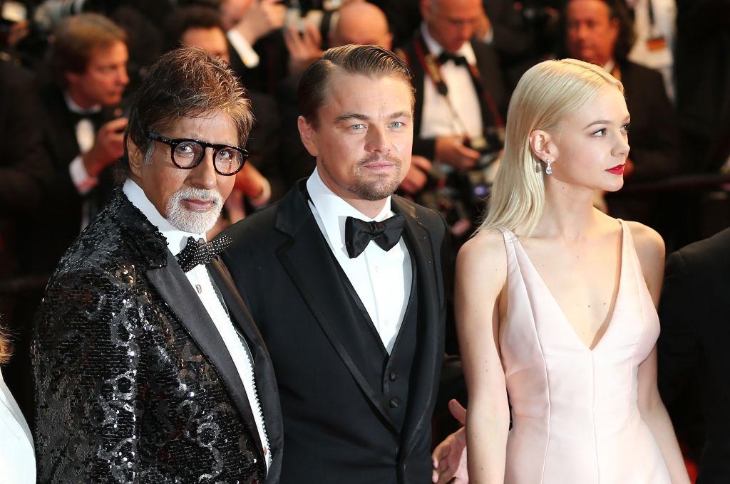 Amitabh Bachchan, Leonardo DiCaprio and Carey Mulligan