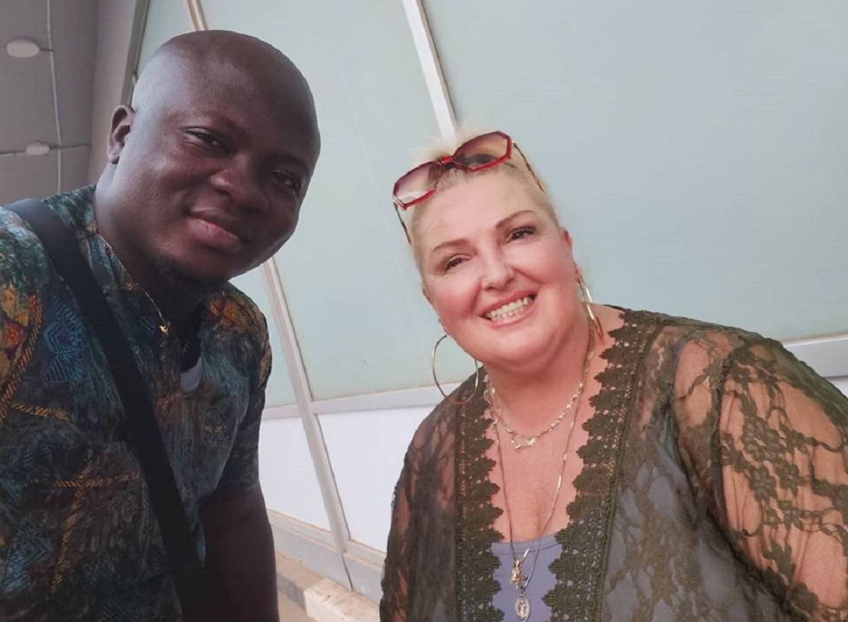 Michael Ilesanmi and Angela Deem
