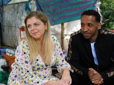 Ariela Danielle and Biniyam Shibre on 90 Day Fiancé