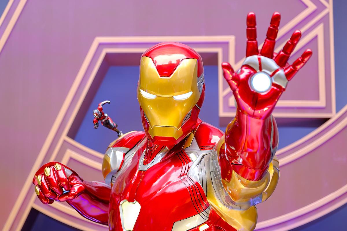 Iron Man character model for 'Avengers: Endgame'