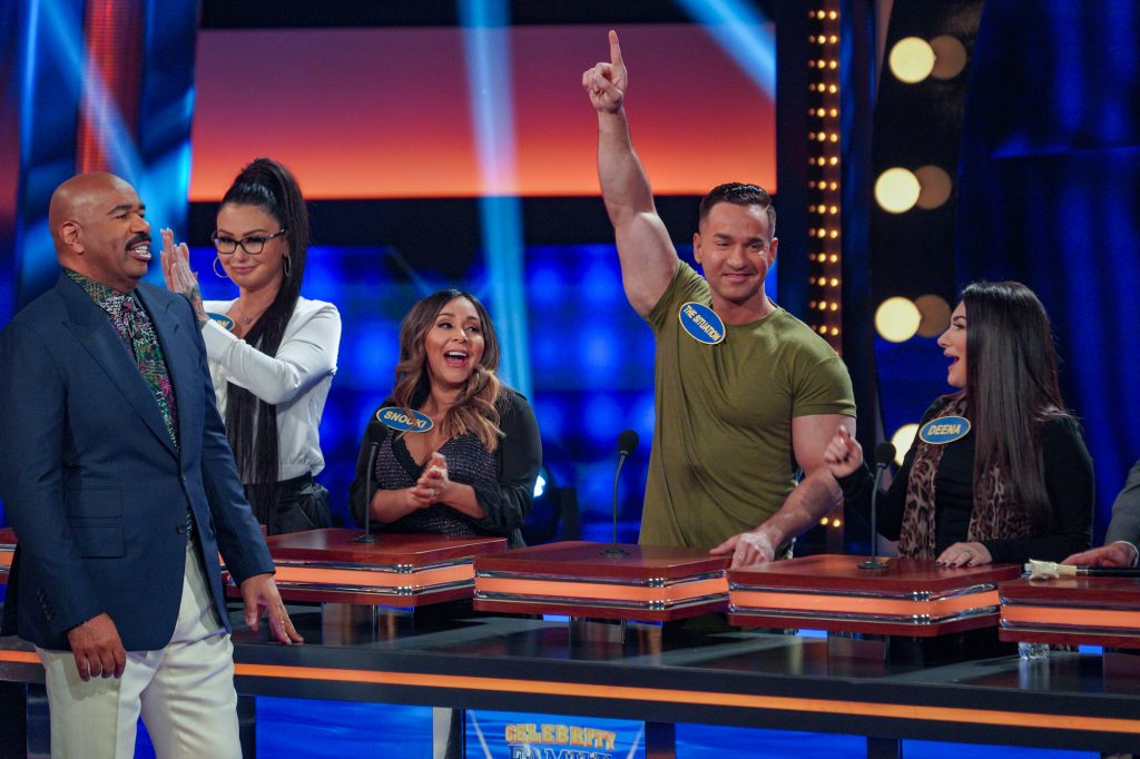 'Celebrity Family Feud' Mike 'The Situation' Sorrentino Frankie Delgado