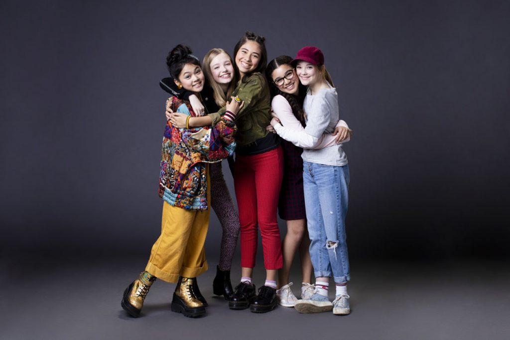 Baby-Sitters Club cast