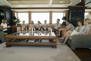 'Below Deck Med': Captain Sandy Says 'the Crew Reflects on the Captain'